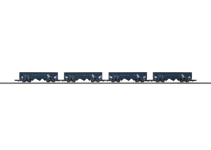 Z | Märklin 82590 - Set US-stortgoedwagens