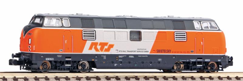 N | Piko 40506 - RTS, Diesellokomotive BR 221