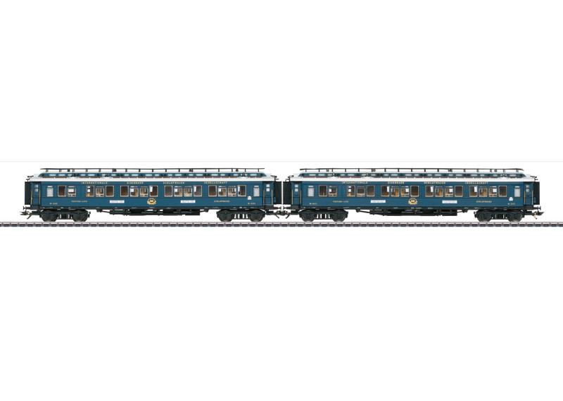 H0 | Märklin 42796 - CIWL, Aanvullingsset sneltreinrijtuigen CIWL Oriënt Express 1928