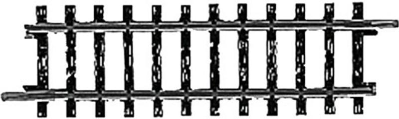 H0 | Märklin 2201 - Recht railstuk (K-rail)