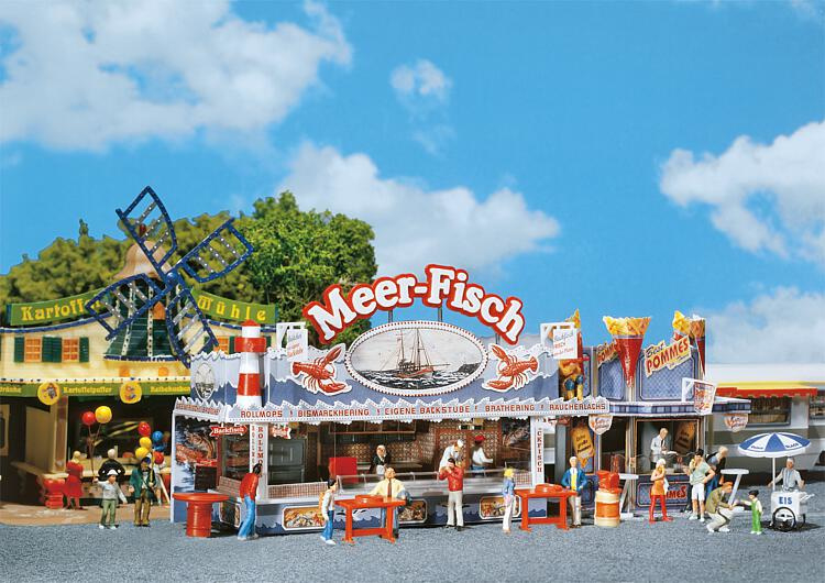 H0   Faller 140445 - Sea Fish Fairground booth
