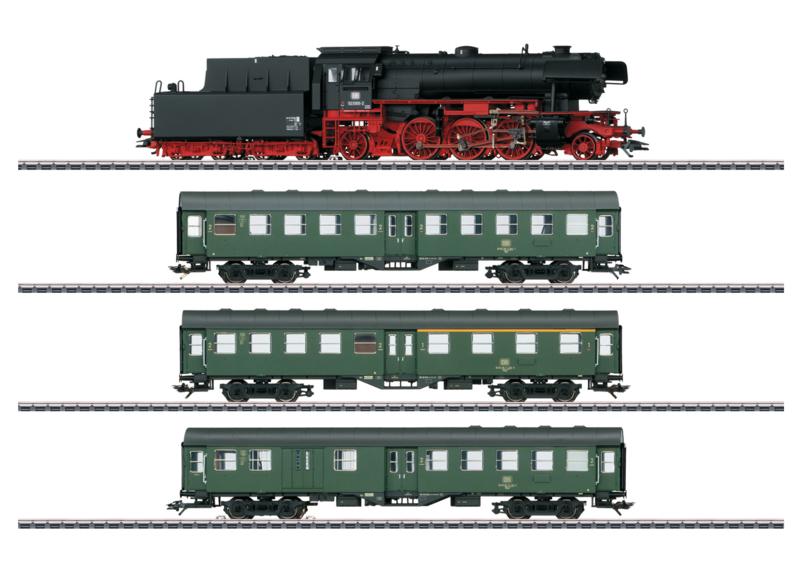 H0 | Märklin 26503 - Set BR 23 and Rebuild-cars (AC sound)
