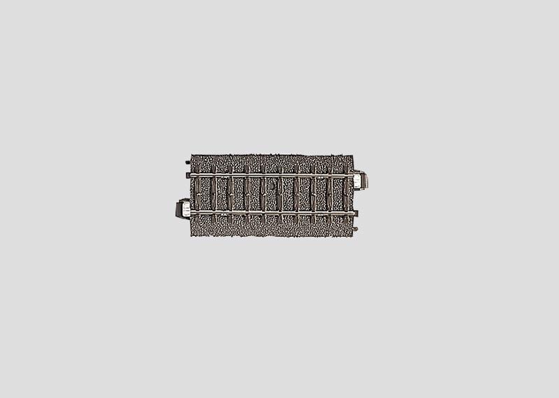 H0 | Märklin 24077 - Recht railstuk 77 mm (C-rail)