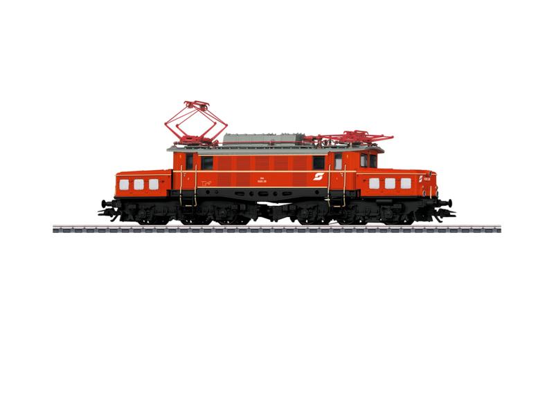 H0   Märklin 37249 - ÖBB Elektrische locomotief serie 1020
