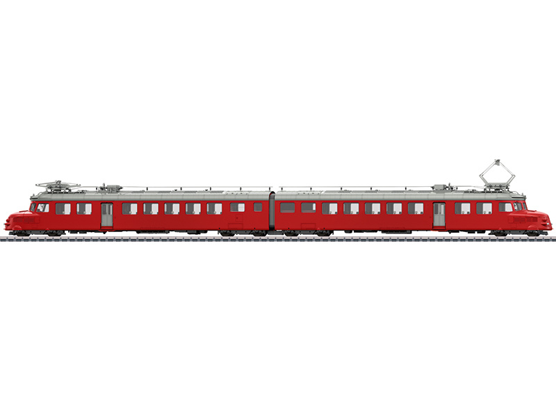 H0   Märklin 39260 - SBB, Dubbele motorwagen RAe 4/8 (AC sound)