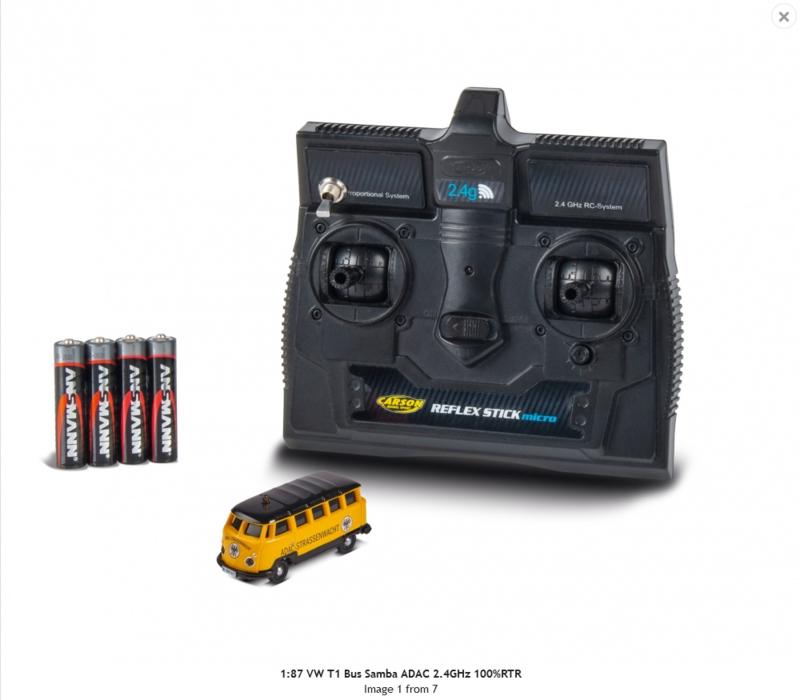 H0   Carson 500504136 - VW T1 Bus Samba ADAC