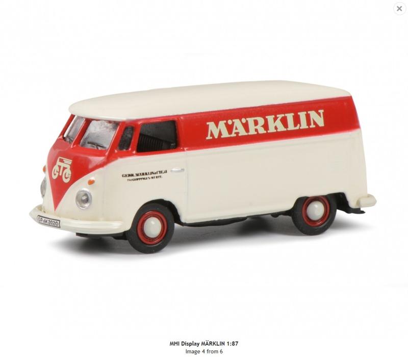 """H0   Schuco 2653801 - Volkswagen T1 """"Märklin"""" (MHI)"""