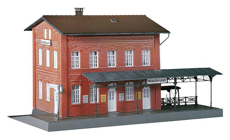 H0 | Faller 190295 - Actieset Station Waldbrunn