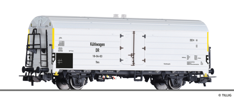 H0   Tillig 502149 - DR, koelwagen Thrs