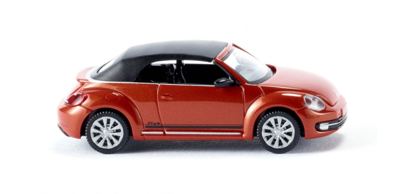 H0 | Wiking 002848 - VW The Beetle Cabrio - oranje (1)