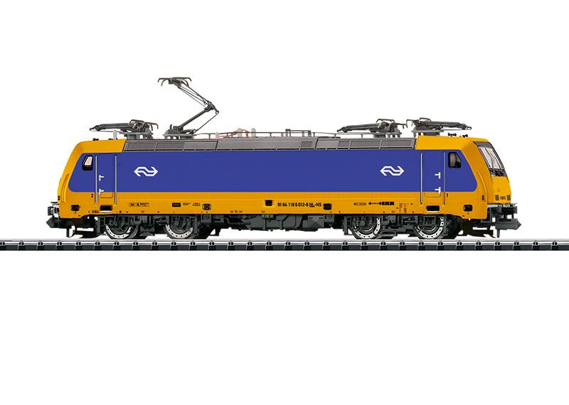 N | Minitrix 16875 - NS, Elektrische locomotief serie E 186 (sound)
