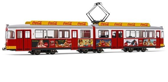 H0   Rivarossi HR 2756 - Coca Cola zomertram