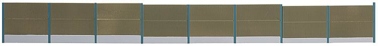H0 | Faller 180420 - Concrete Noise protection wall