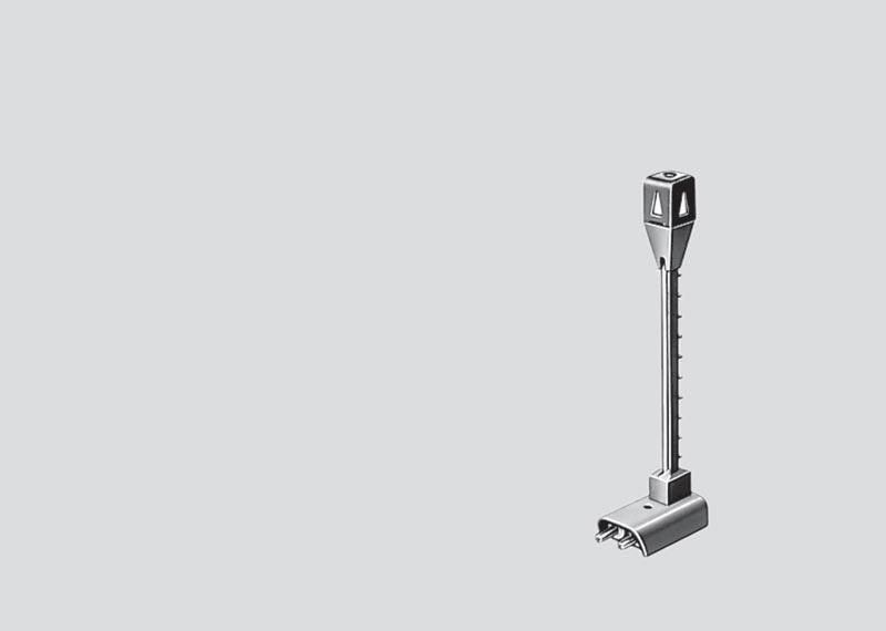 H0 | Märklin 74997 - Lichtmast voor ontkoppelrails (C-rail)