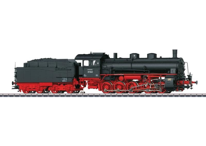 H0 | Märklin 39554 - DB BR 57.5 (AC sound)