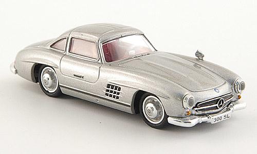H0   Ricko 38394 - Mercedes 300 SL (W198), silver