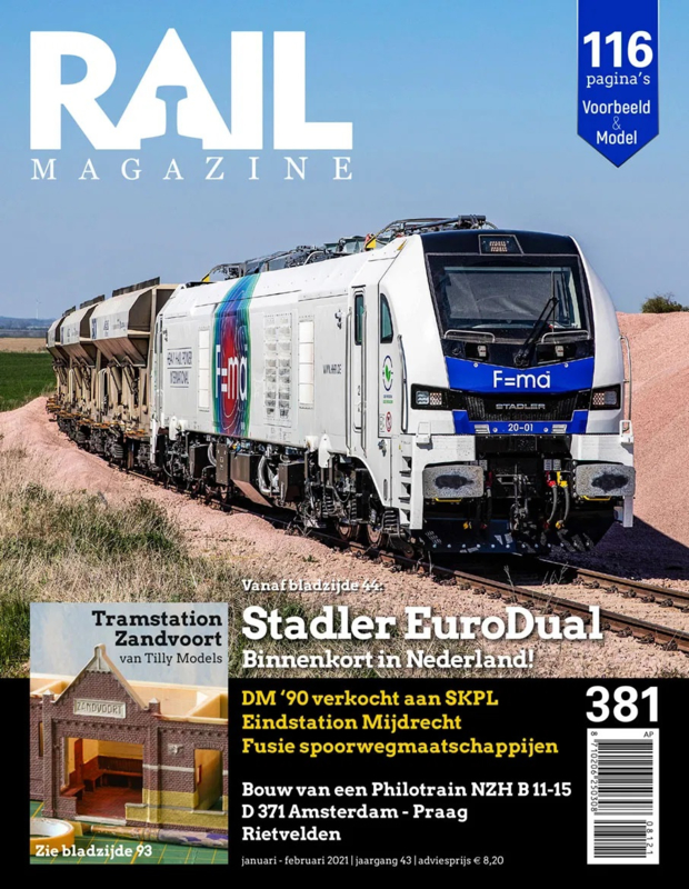 Railmagazine 381 januari - februari 2021