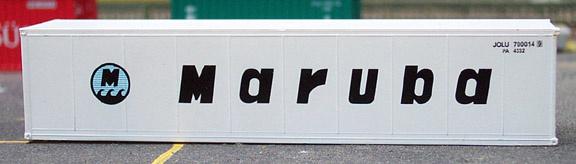 N | De Luxe 4270 - set 40' containers Maruba / smoothside