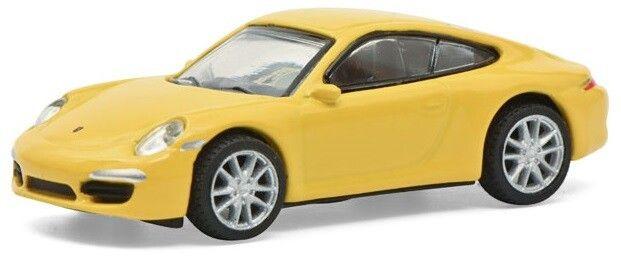 H0 | Schuco 26599 - Porsche 911 (991) Carrera S, geel