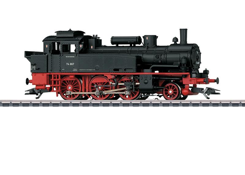 H0 | Märklin 36746 - DB, Stoomlocomotief BR 74