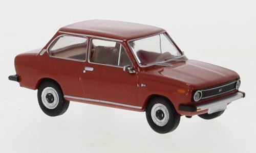 H0   Brekina 27650 - DAF 66, rood, 1972 (8)