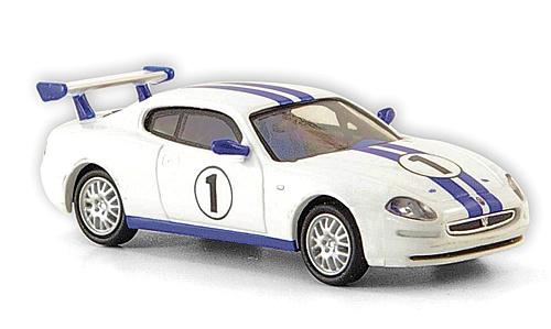 H0 | Ricko 38808 - Maserati 3200 GT Trofeo, white/blue, No.1, 2002