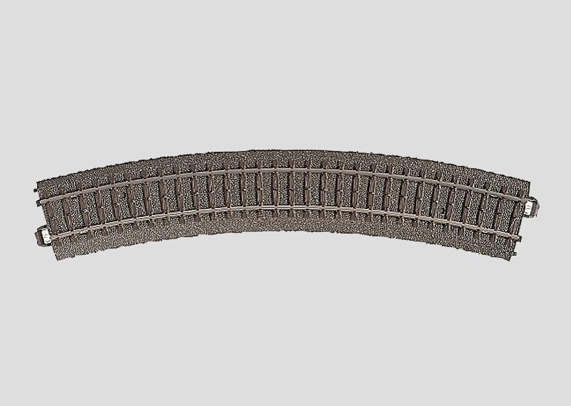 H0 | Märklin 24230 - Gebogen railstuk R437,5 mm - 30Gr (C-rail)