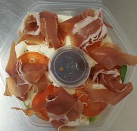 Salade Italia met Parmaham
