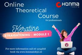 keratine straghtening  - Theory module 01
