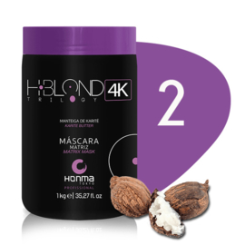 H-BLOND TRILOGY 4K - Mask Color Matrix - 1 kg