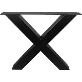 Industriële tafel x-poot