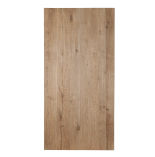 Eiken Tafelblad recht | 4 cm dik