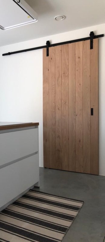Loftdeur Eiken | Model Laki