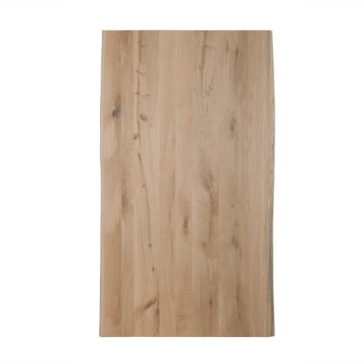 Eiken Boomstam Tafelblad  | 4 cm dik