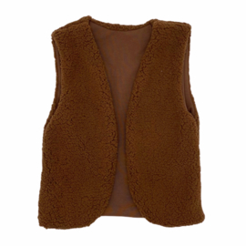 Teddy Gilet BROWN