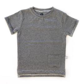 T-shirt 'streep smal'
