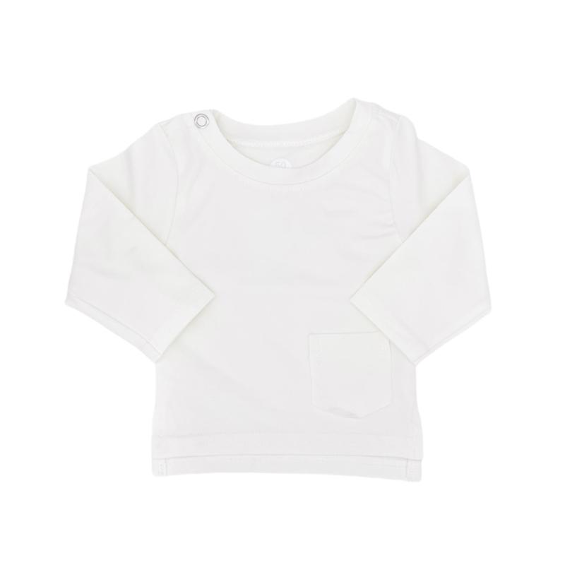 NEWBORN - Longsleeve WHITE