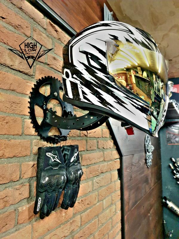 The Helmet Rack