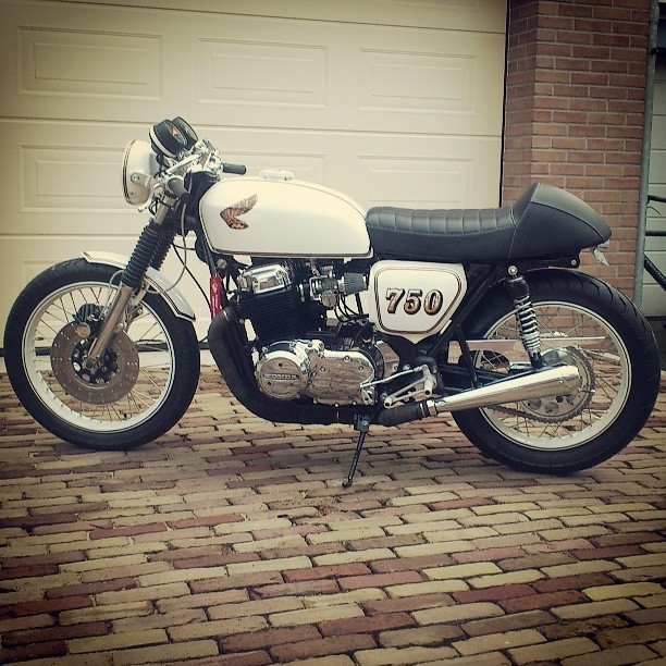 Custom Motorcycles: HighLow Bike Art Honda CB750.jpg