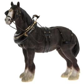 beeldje paard Shire | 28 cm