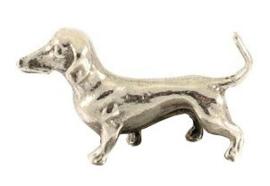 miniatuur Teckel korthaar staand