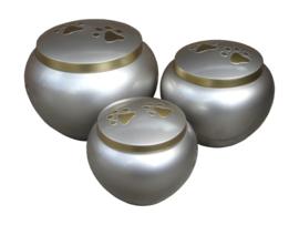 urn Odessey Pewter Brass