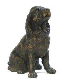 asbeeld/urn Engelse Cocker spaniel | 29 cm