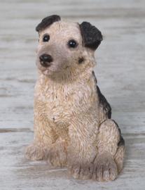 vintage beeldje Duitse Herder puppy