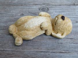 (nieuw)vintage beeldje Labrador blond