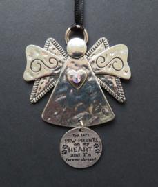 hangend ornament Engel met Swarovski kristal