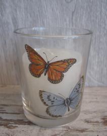 sfeerlicht/waxinehouder vlinders