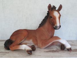 beeld/asbeeld/urn Paard bruin