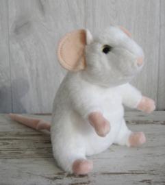 pluchen muis wit