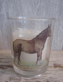sfeerlicht/waxinehouder paard